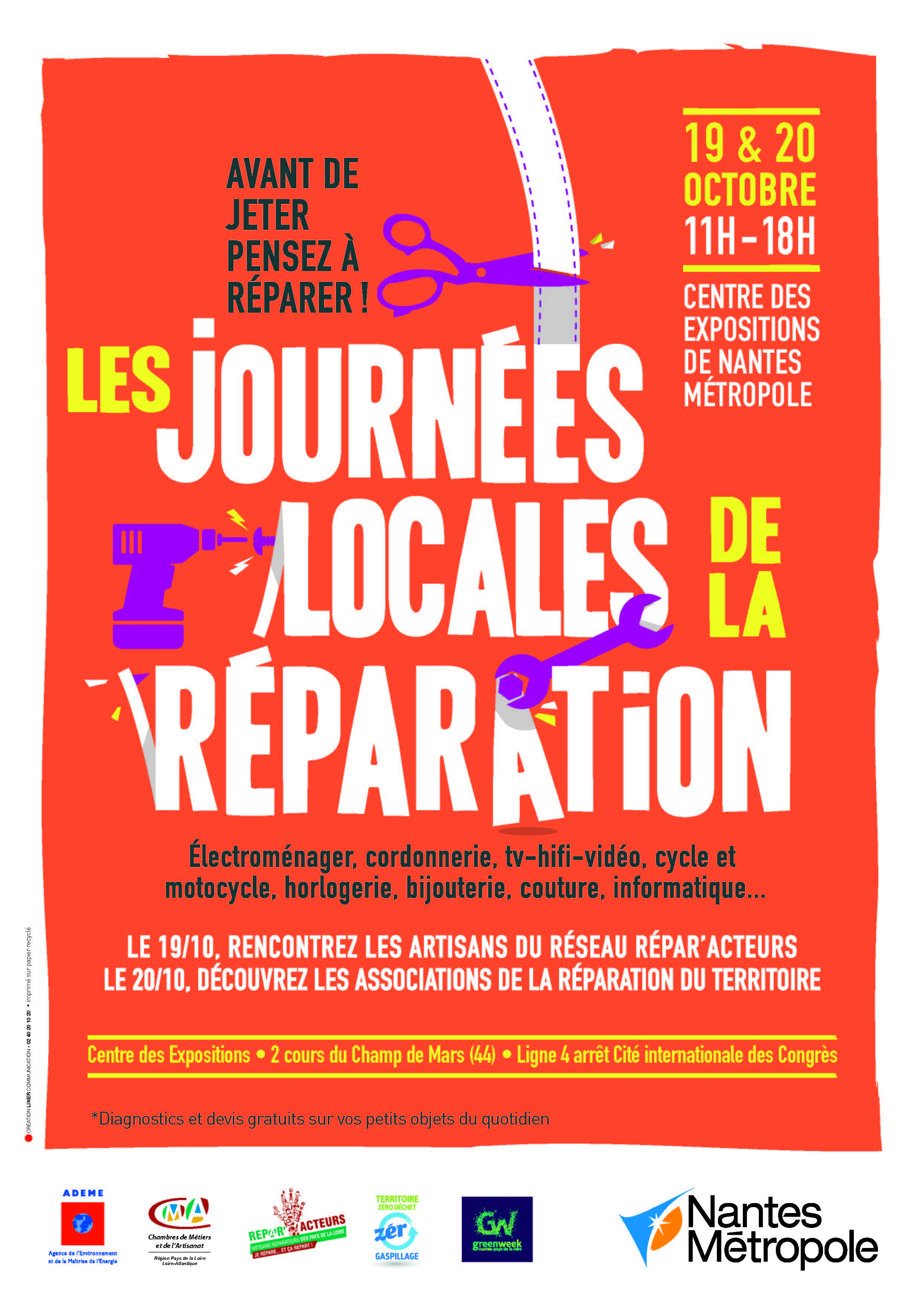 Affiche JOURNEE REPARATION aff A4